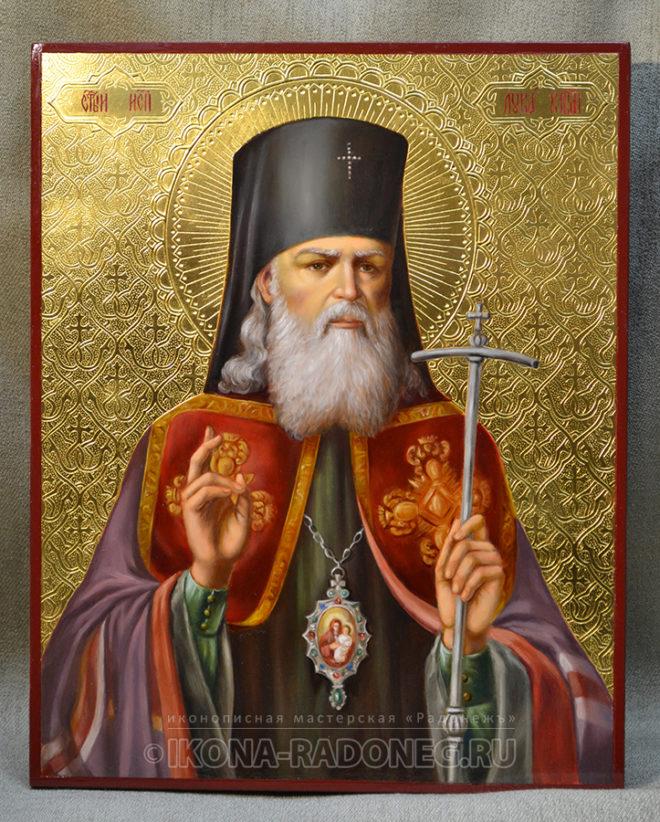 Лука Крымский - живописная икона