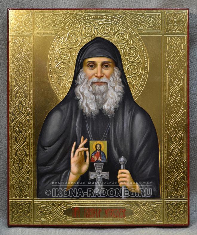 Икона преподобного Гавриила Ургебадзе
