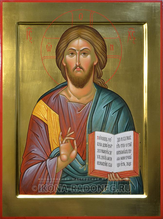 Икона Господь Вседержитель (обр. 3)