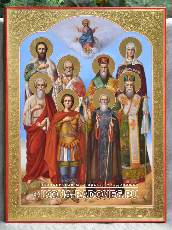 Икона Собор святых (живопись)