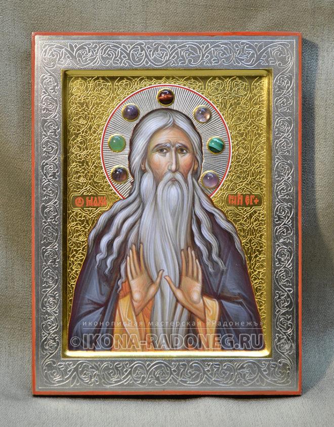Икона преподобного Макария Великого