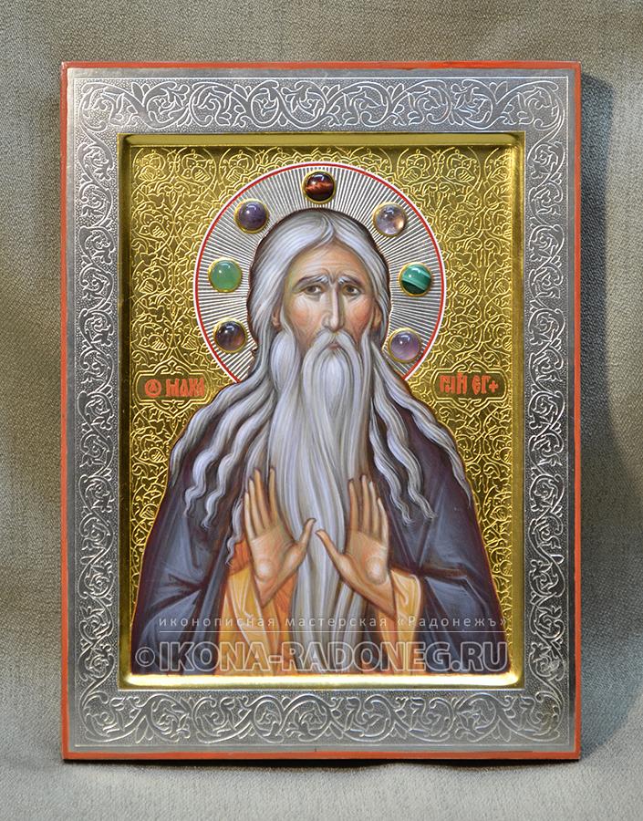 Икона Макарий Великий (Египетский)