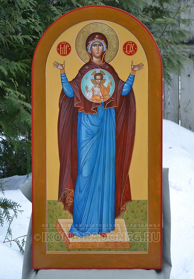 Ростовая икона Божией Матери - Знамение