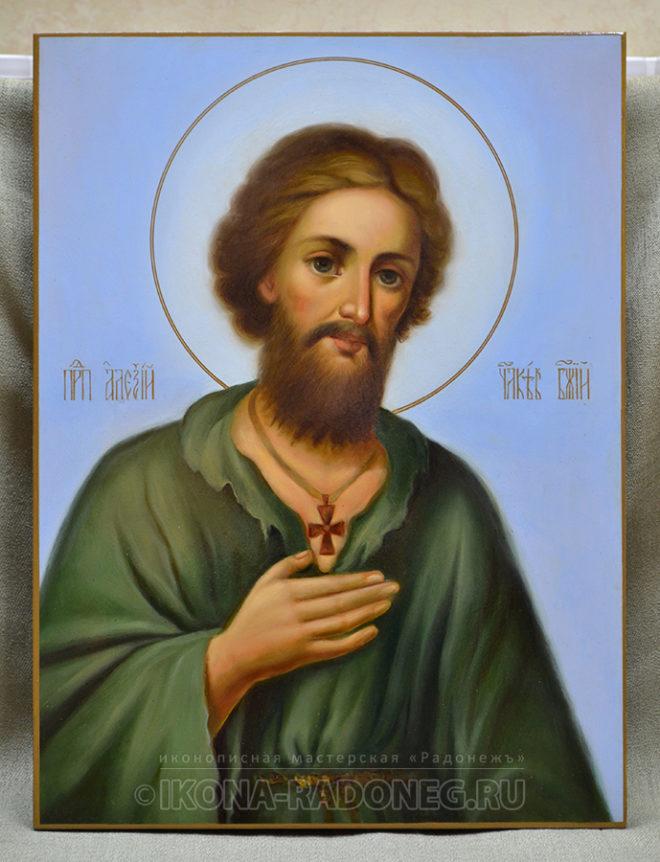Икона преподобного Алексия