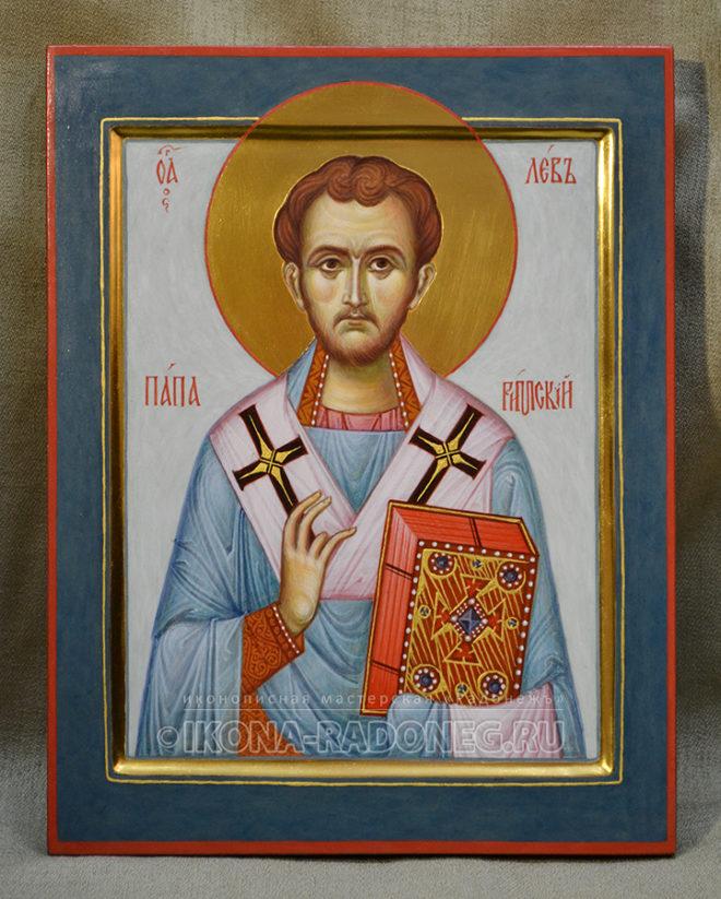 Икона Льва папы Римского